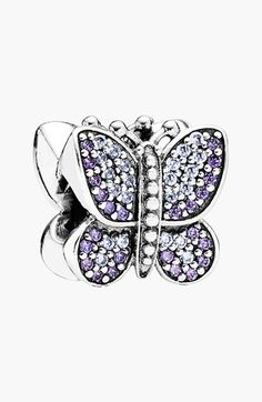 PANDORA Butterfly Bead Charm available at #Nordstrom. Love this charm!