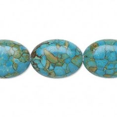 "Beads Mosaic ""Turquoise"" Blues"