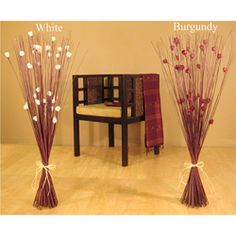overstock enhance your home decor with this beautiful tall rose bouquet silk plant accent