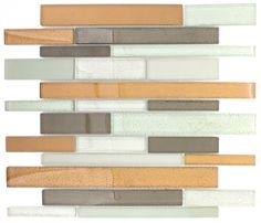 Mineral Tiles - Glass Backsplash Tile Fall Brick, $16.50 (http://www.mineraltiles.com/glass-backsplash-tile-fall-brick/)
