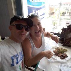 Almoçando com a sogra.............@domenicapanno by kleber_panno