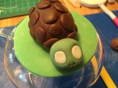 Turtle Schildkröte Fondant Figur