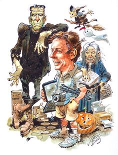 Jack Davis Caricature of me