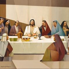 Browse - By Artist - Jorge Cocco - The Last Supper - Altus Fine Art Christian Paintings, Christian Artwork, Pictures Of Christ, Bible Pictures, Lds Art, Bible Art, Catholic Art, Religious Art, The Last Supper Painting