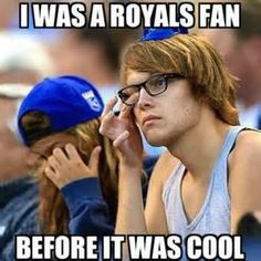 Some what , since last year before  the play offs and world series,  but I have always been since I was born throw my heart.