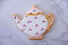 teapot cookies , cookie , icing cookie , rose , royalicing , edible art , sugar cookies , sugarcraft