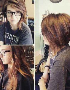 Asymmetrical Bob Hairstyles for Stylish Ladies