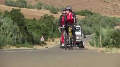Day 7: Today the team returned to their bikes and faced daunting winds on the way to Maclear. #Unogwaja2014