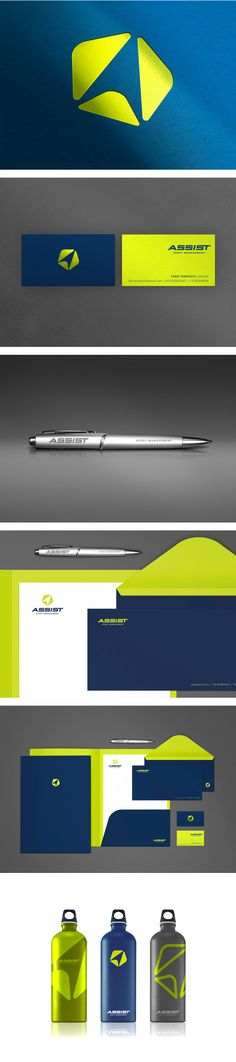 Assist - Sport Management by Denise del Carmen, via Behance