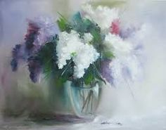Image result for paintings of flowers in vases