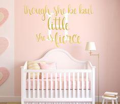 Babys Nursery Decor, Pink and Gold Nursery Decor