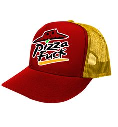 """Gorra Pizza Fuck "" disponible en www.kingmonster.com.mx"