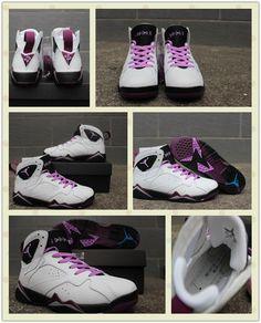 "Air Jordan 7 GS ""Fuchsia Glow"", Women size eur 36-40 available Any interested, PM me pls. Kik: lindachan20166 Email: lindachan20166@gmail.com Whatsapp: +8615960167657"