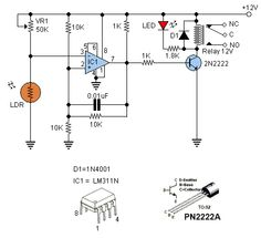 #LDR switches are used to switch other device when light are present or absent.