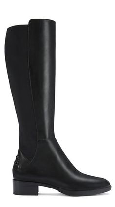 Lean, comfortable and classic, our Caitlin Stretch Boot offers an especially flattering fit. It combines supple suede with techy neoprene into a knee-high silhouette, designed to give slightly, mold t