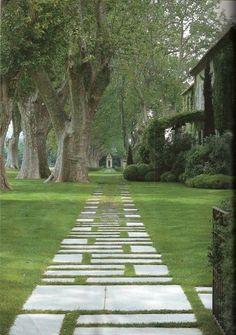 French Provencal Garden