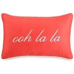 kate spade new york Mixed Petal Oblong Toss Pillow