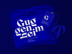 Guggenheim Museums and Foundation Rebranding Concept - World Brand Design SocietyWorld Brand Design Society Museum Logo, Museum Branding, Museum Identity, Corporate Branding, Corporate Design, Branding Design, Design Agency, Ux Design, Visual Identity