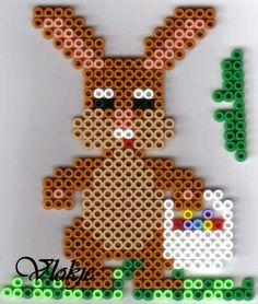 Deko Ostern Bügelperlen Easter  perler beads