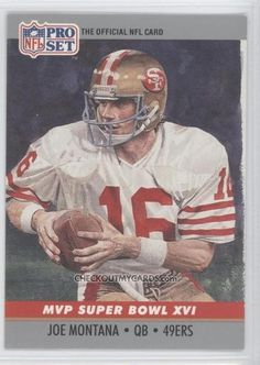NFL+football+cards | Official NFL Football Card 1990 JOE MONTANA Super by therpsajik