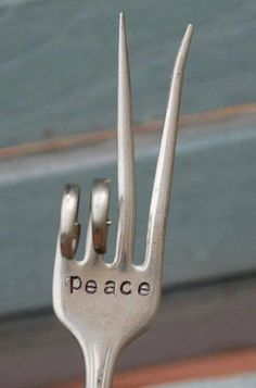 There's a cereal killer spoon, and then there's a peace fork. Choose your pick!