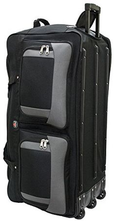 02c638158f Luggage   Travel Gear · 45361 Amaro 36 Inch 1200d Explorer Rolling Duffle  Bag BLACK     Continue to the