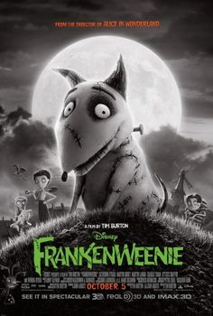 Frankenweenie showcasing burton's classic allure and imagery. In theaters today! Relive the magic of tim burton and his clever take on the Frankenstein tale.