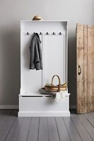 Hallway Wardrobe Designed Coat Rack Hallway Bench and Coat Hook Shoe Storage