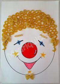 Como se está a aproximar o Carnaval resolvemos fazer um palhacinho na sala de atividades.   Numa folha de papel branca desenhámos a cara...