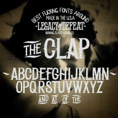 Legacy of Defeat - Making Badass Fonts