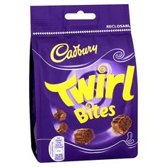 Cadbury Twirl Bites - Pack of 6 Appliances Kitchen Appliances Water Dispensers Tools-Accessories Making Supplies Making Accessories Cadbury Uk, Cadbury Chocolate, Chocolates, British Sweets, British Candy, Selection Boxes, Types Of Chocolate, Bebe, Schokolade