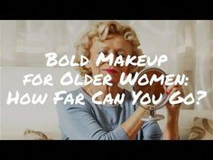 Bold Makeup for Older Women – How Far Can You Go? (Video) #LoveTheseBeautyTips #BeautyRoutineCalendar Beauty Routine Calendar, Beauty Routines, Daily Beauty Tips, Diy Beauty, Beauty Tricks, Beauty Hacks With Coconut Oil, Bold Makeup Looks, Makeup For Older Women, Beauty Hacks For Teens