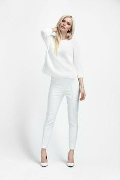 All white is a clean look.    Download the free app to get the outfit! kalei.do/