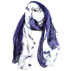 Shop for Le Nom Women's Mustasche Print Scarf. Free Shipping on orders over $45…