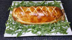 3 - Servir chaud en plat principal ou en entrée avec des petites tomates cerises en décoration et des pousses de salade (ici Roquette). Peut se consommer également tiède ou froid.