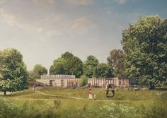 Feilden Fowles Designs New Visitor Center for Yorkshire Sculpture Park