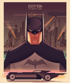 Batman The Animated Series Poster - Cristhian Hova Posters Batman, Batman Artwork, Batman Wallpaper, Batman Drawing, Batgirl, Nightwing, Catwoman, Dc Comics, Batman Comics