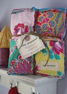 Baby Handmade Reversible Rag Quilt