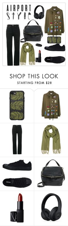 """""""[ A i r p o r t S t y l e ]"""" by haranata ❤ liked on Polyvore featuring Casetify, Mira Mikati, RE/DONE, Mila Schön, Converse, Vince Camuto, NARS Cosmetics, Beats by Dr. Dre, Allurez and hoodie"""