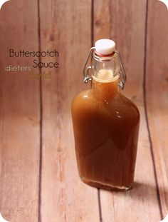 Homemade Butterscotch Sauce. Recipe makes more than 2 cups worth! from #dietersdownfall.com