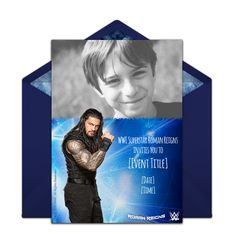 Free WWE Invitations Easily Personalize And Send Invites Via Email Or Social Media On