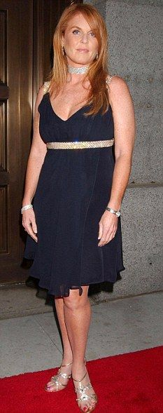 Duchess of York Sarah Ferguson 'owes fitness trainer £65,000'   Mail Online
