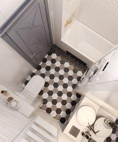 Modern Bathroom Decor, Bathroom Design Small, Bathroom Layout, Bathroom Interior Design, Bad Inspiration, Bathroom Inspiration, Home Decor Inspiration, Mini Bad, Bathroom Plans