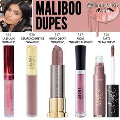 KYLIE COSMETICS ➱ Maliboo Matte Liquid Lipstick ➱ Maliboo is available as a lip kit and as a matte single