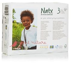Naty by Nature Babycare Size 3 (9-20 lbs/4-9 Kg) Nappies - 4 x Packs of 31 (124 Nappies): Amazon.co.uk: Health & Personal Care