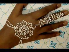 ᴴᴰ SIMPLE BEAUTIFUL HENNA MEHNDI (jasa henna indo) Henna Mehndi, Henna Art, White Henna, Tattoos, Simple, Beautiful, Tatuajes, Tattoo, Tattos
