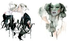 Antonio Soares Interview And Delicate Fashion Illustration And ...