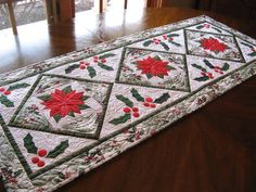 (7) Name: 'Quilting : Holiday Tabletop Trio