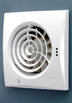 Bathroom Extractor Fan With Humidity Sensor