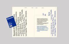 """dailydesigner: """" Barcelona Crea, Crea Barcelona by Josep Puy and Gerard Elias """""""